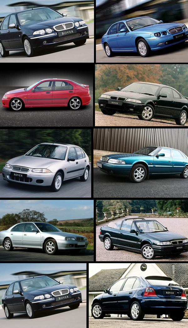 rover 2be3a